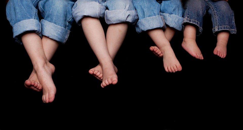 rozwój stopy dziecięcej