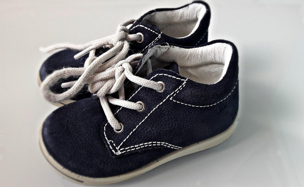 dobór obuwia dla dziecka