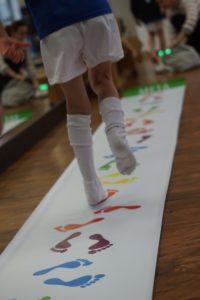 dzieci - badanie stóp