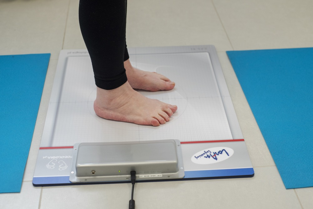 specjalistyczne badanie stóp
