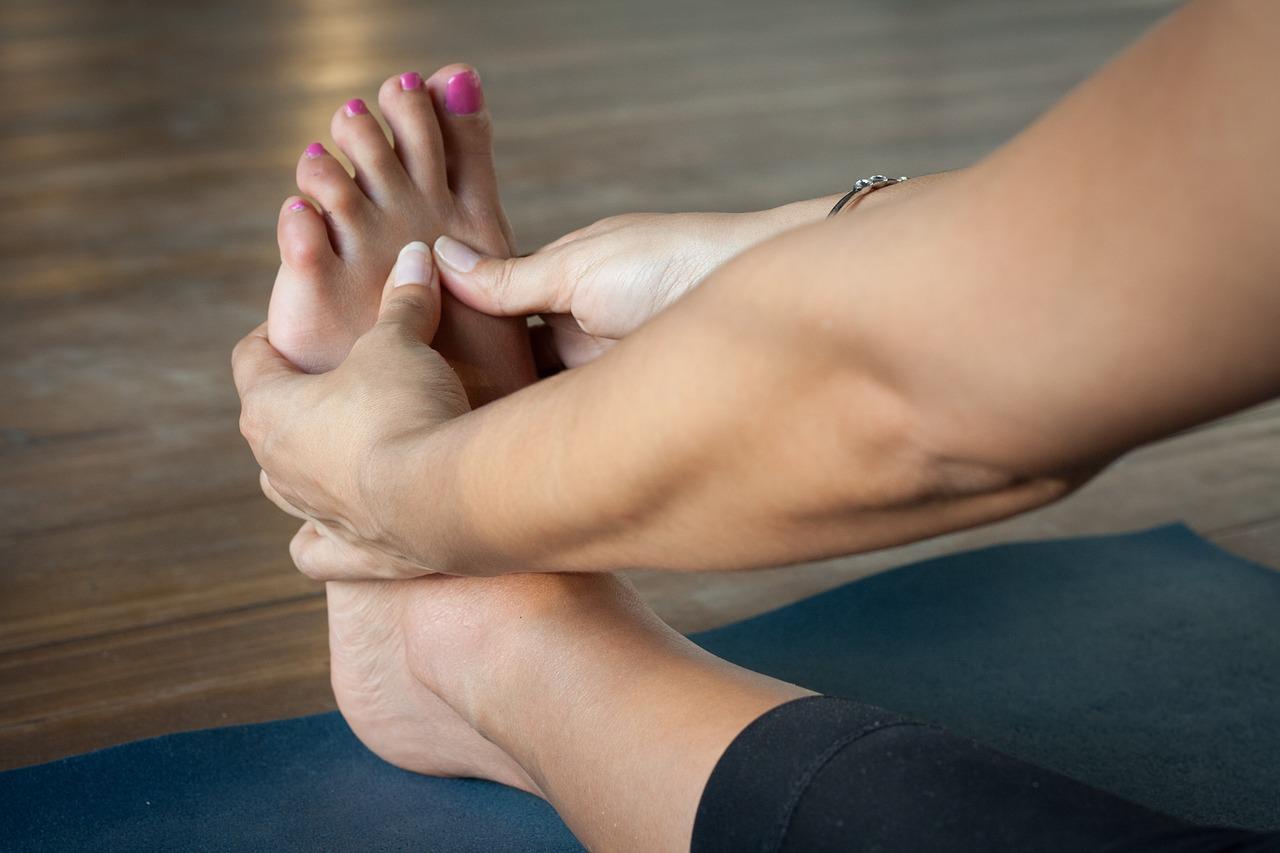 Zdrowe stopy kobiety