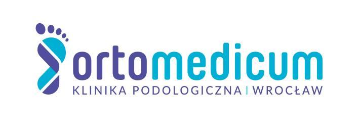 logo Kliniki Podologicznej Ortomedicum weWrocławiu